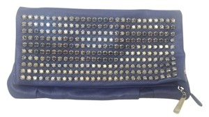 Charming Charlie Blue Clutch