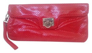 Express Wristlet Red Clutch