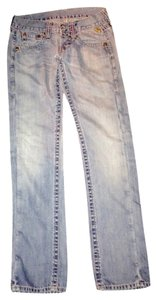 Replay Straight Leg Jeans-Distressed