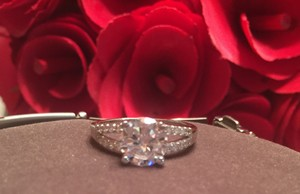 Christmas In August - 2 Ct - Glamour In A Top 10 Ring Style