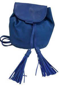 Lucky Brand Leather Blue Cross Body Bag