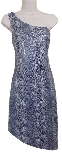 M Collection Snakeskin One Sexy Rave Club Dress
