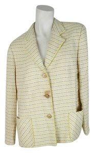Straw Yellow Blazer