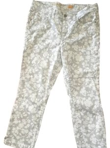Anthropologie Capris Beige