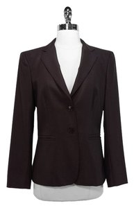 Max Mara Wool Silk Brown Blazer