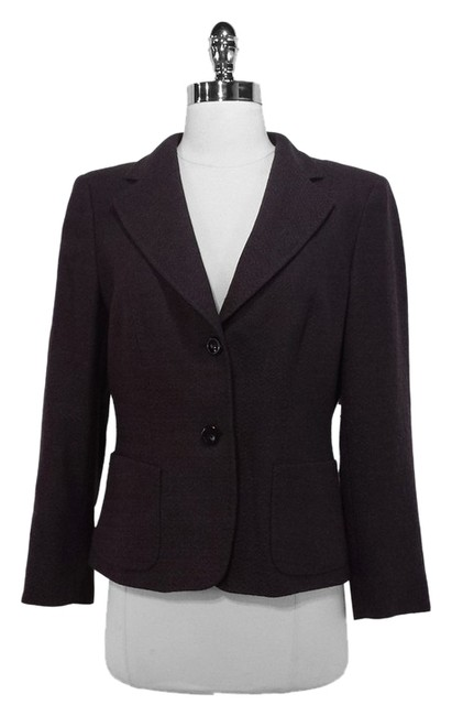 Preload https://item4.tradesy.com/images/max-mara-eggplant-woolcashmere-blend-blazer-size-10-m-1363008-0-0.jpg?width=400&height=650