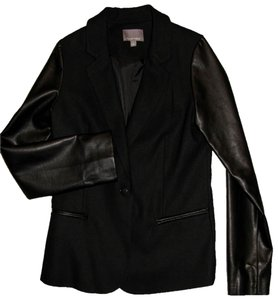 Tinley Road Leather Jacket Women's Coats Leather Coat BLACK Blazer