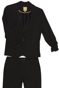 Hollywould Pinstripe suit - blazer size L, pants size 7