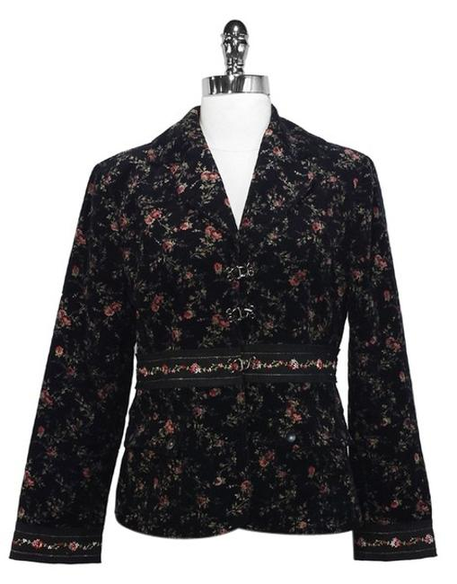 Preload https://item2.tradesy.com/images/cynthia-steffe-floral-print-corduroy-blazer-size-12-l-1363146-0-0.jpg?width=400&height=650