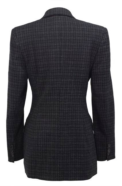 Piazza Sempione Wool Black/White Blazer