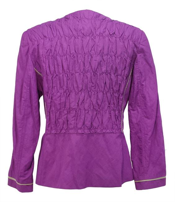 Elie Tahari Purple Jacket