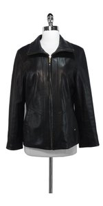 Ellen Tracy Leather Leather Jacket
