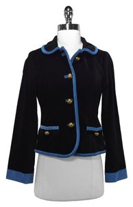 Marc Jacobs Black/Blue Blazer