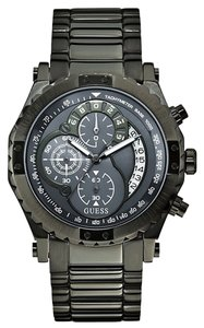Guess Guess Male Dress Watch U0036G1 Black Chronograph