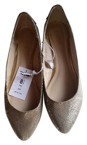 Mossimo Supply Co. gold Flats
