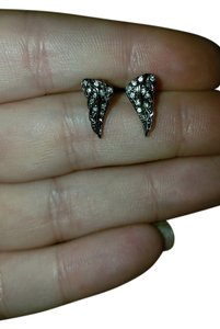 Juicy Couture Juicy Couture paved rhinestone wing earrings studs