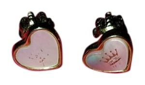 Juicy Couture Juicy Couture gold heart earrings studs