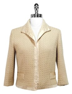 MILLY Wool Gold/Beige Blazer