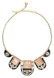Kate Spade NWT Kate Spade New York IMPERIAL TILE NECKLACE MULTI ART DECO- O0RU0996 $278