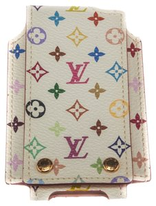 Louis Vuitton Louis Vuitton Murakami Multicolored Leather Ipod Nano Case(20632)