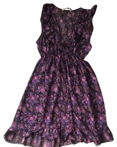 new look short dress Flowers on Tradesy