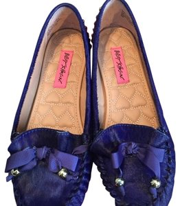 Betsey Johnson Royal Blue Flats