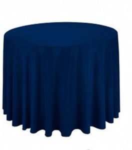 Tablecloths Factory Navy Tablecloth