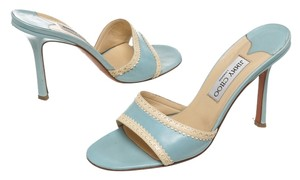 Jimmy Choo Blue Sandals