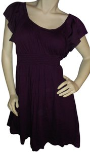 Express short dress Eggplant on Tradesy