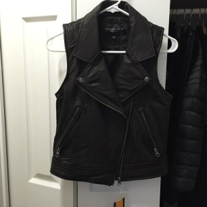 United face Leather Jacket