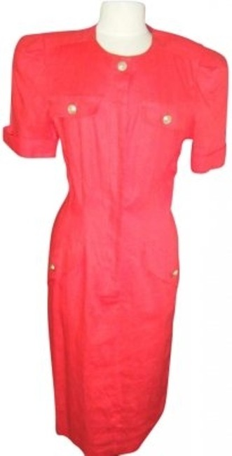 Preload https://item4.tradesy.com/images/maggy-london-linen-blend-button-front-mid-length-workoffice-dress-size-12-l-136353-0-0.jpg?width=400&height=650