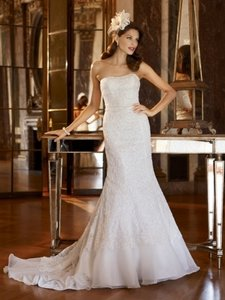 David's Bridal Galina Signature Swg400 Wedding Dress