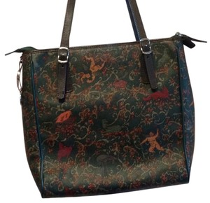 Piero Guidi Satchel in Multicolor
