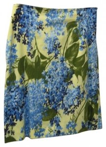 Moschino Skirt Yellows and blues