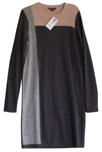 Vince short dress Cashmere colorblock grays and pale pink on Tradesy