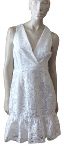 Marchesa Voyage short dress White on Tradesy