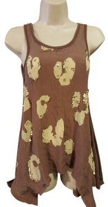 Threads 4 Thought Sequin Long Top Brown