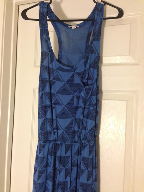 Blue, Black Maxi Dress by Caslon Nordstrom Maxi Tribal