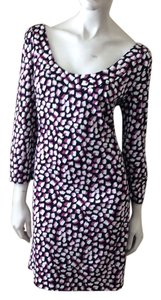 Diane von Furstenberg short dress Pomme Sky Pink on Tradesy