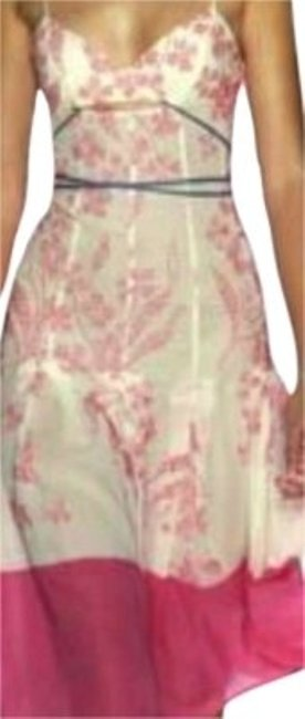 Preload https://item3.tradesy.com/images/bcbgmaxazria-pink-white-and-teal-runway-collection-embroidered-mid-length-casual-maxi-dress-size-2-x-136362-0-0.jpg?width=400&height=650