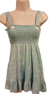 Charlotte Russe Cute Sleeveless Stretchy Tunic