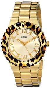 Guess Guess Female Dress Watch U0404L1 Gold Analog
