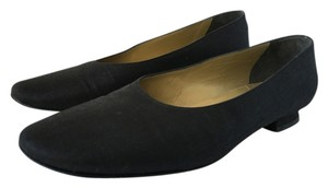 Saint Laurent Ysl Yves Black Flats