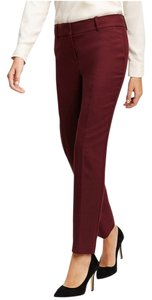 Ann Taylor Work Suiting Business Straight Pants Chianti