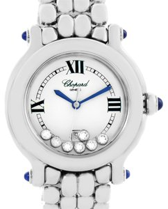 Chopard Chopard Happy Sport White Dial Floating Diamond Watch 278236-3005