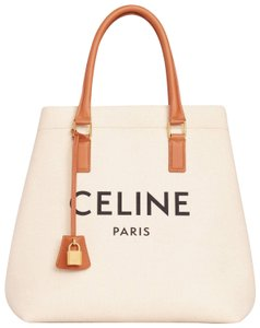 Céline Tote in Natural/Tan
