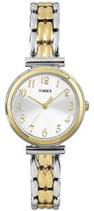 Timex Timex T2P201 Women's Elevated Classics Two Tone Analog Watch