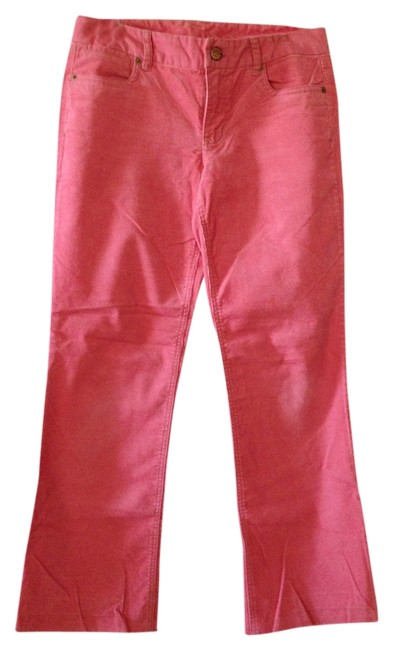 Preload https://item1.tradesy.com/images/jcrew-rose-cord-favorite-fit-boot-cut-pants-size-4-s-27-1363815-0-0.jpg?width=400&height=650