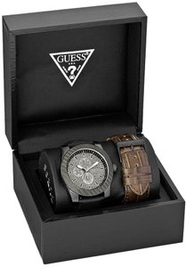 Guess Guess Male Fashion Watch U0079G2 Black Analog