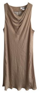 Helmut Lang Summer Designer Neutral Party Dress